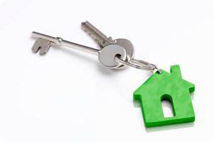 Keys to a cross lease property
